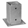 Квадратна основа за греда с планка за бетон - PSP